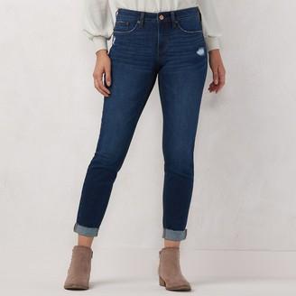 Lauren Conrad Women's Cuffed Skinny Jeans