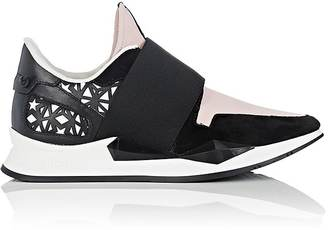 Givenchy Women's Mixed-Material Sneakers $695 thestylecure.com