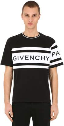 Givenchy Slim Fit Logo Cotton Jersey T-Shirt