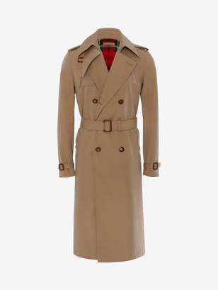 Alexander McQueen Harness Trench Coat