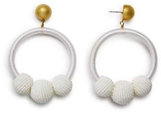 Kate Spade Loop & Ball Statement Drop Earrings