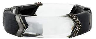 Alexis Bittar Crystal & Lucite Bracelet Clear Crystal & Lucite Bracelet