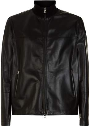 Dunhill Leather Blouson Jacket
