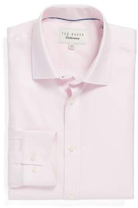 Ted Baker Endurance Trim Fit Geometric Dress Shirt