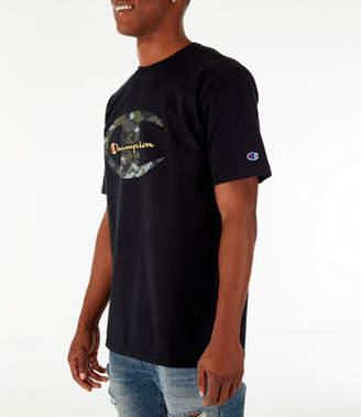 Champion Men's Heritage Camo C Gold Script T-Shirt