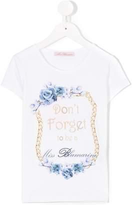 Miss Blumarine printed T-shirt