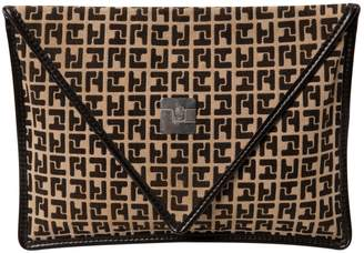 Ted Lapidus Cloth Clutch Bag