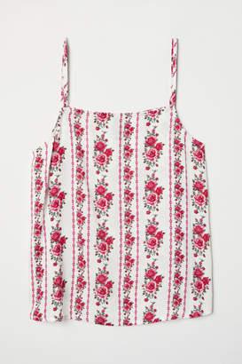 H&M Viscose Camisole Top - White