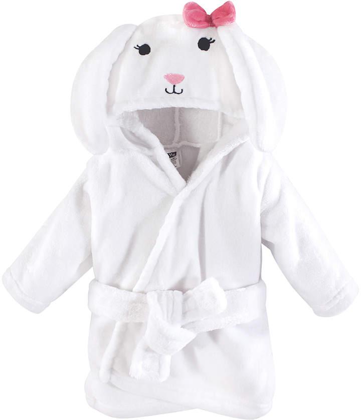 White Plush Bunny Bathrobe - Newborn