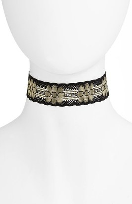 Women's Vanessa Mooney Parisa Choker $30 thestylecure.com