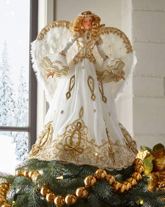Katherine's Collection Gold Angel Tree Topper