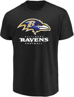 Majestic Big & Tall Baltimore Ravens Team Color Tee