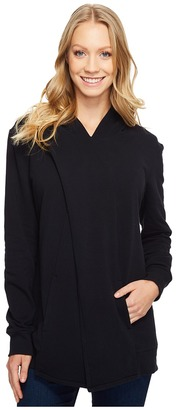Lucy - Keep Calm Pullover Wrap Women's Sweatshirt $89 thestylecure.com