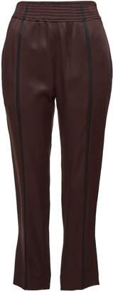 Haider Ackermann Cropped Satin Pants