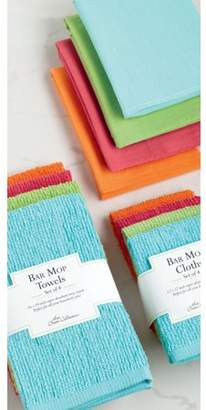 "MOP Dii DII Terry Bar Dishtowel & Dishcloth Set, Set of 8, DT:19""x16"" DC: 12""x12"",100% Cotton, Multiple Colors"