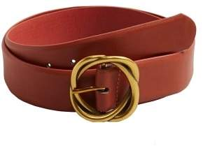 Violeta BY MANGO Metal buckle belt