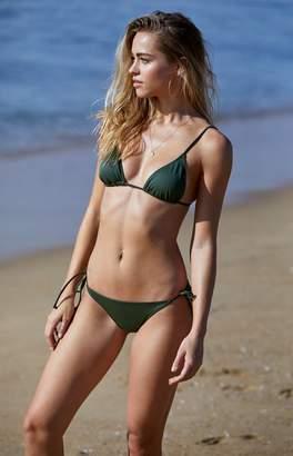 La Hearts Basic Triangle Bikini Top