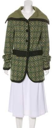 Etro Patterned Wool Sweater