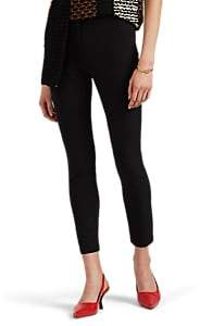 Proenza Schouler Women's Stretch-Twill Moto Pants - Black