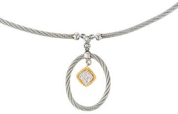 Charriol Charriol Diamond Pendant Necklace