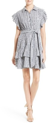 Women's Rebecca Taylor Stripe Shirtdress $375 thestylecure.com