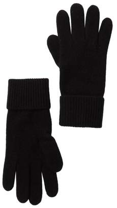 Portolano Cashmere Ribbed Gloves