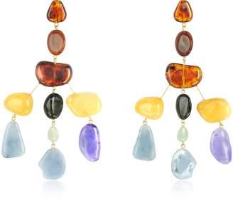 Cult Gaia Amber Multi Sloane Earrings