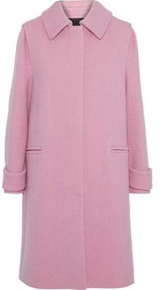 Maje Brushed-Wool Coat