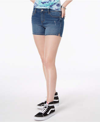 Vanilla Star Juniors' Classic Denim Shorts