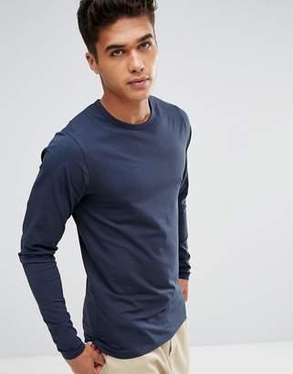 Jack and Jones Long Sleeve T-Shirt In Regular Fit