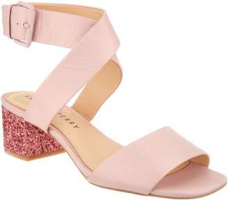 Katy Perry Glitter Block Heel Sandal - Margot