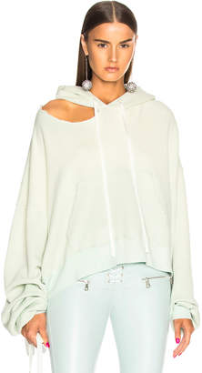 Unravel Cut Out Hoodie