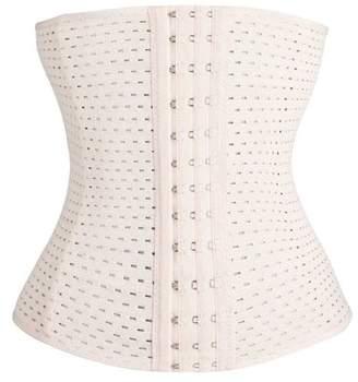 TellSell Women's Instant Slimming Curvy Waist Cincher - Ivory Medium