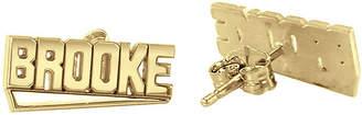 FINE JEWELRY Personalized Block Name Earrings