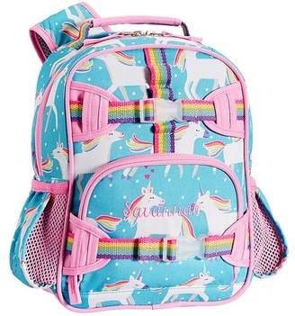 Pottery Barn Kids Mackenzie Aqua Unicorn Lunch Bags