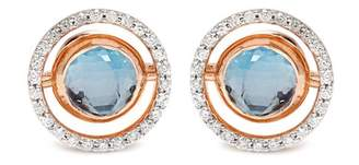 Marie Mas - Diamond, Amethyst, Topaz & Pink Gold Earrings - Womens - Pink