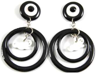Mam MAM' Halloween Earrings Ghost Orbit
