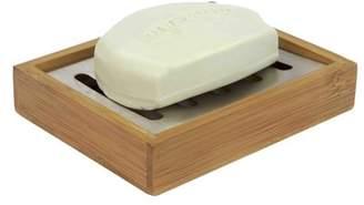 Home Basics Bamboo Soap Dish (Set of 2)