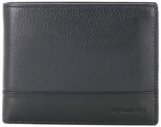 Cerruti two tone foldover wallet