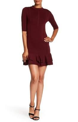 Veronica Beard Aubrey Tiered Bodycon Dress
