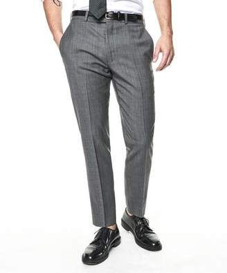 Todd Snyder White Label Sutton Stretch Tropical Wool Suit Trouser In Light Charcoal
