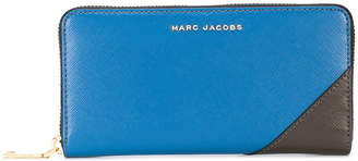 Marc Jacobs two-tone standard continental wallet
