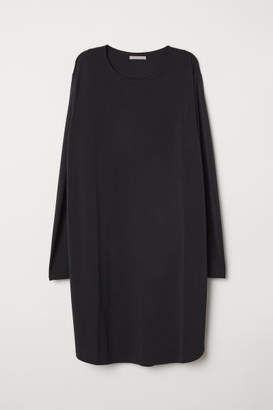 H&M H&M+ Jersey Tunic - Black
