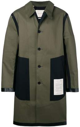 MACKINTOSH midi raincoat