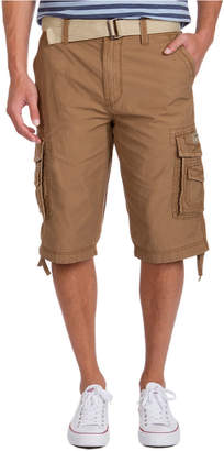 UNIONBAY Men Big and Tall Belted Cordova Messenger Short