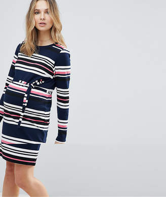 Mama Licious Mama.licious Mamalicious Striped Jersey Dress
