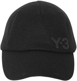 Y-3 Winter Logo Embroidered Wool Hat