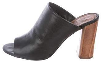 Tory Burch Raya Leather Mules
