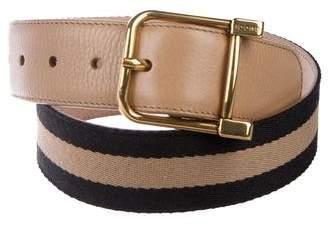 Gucci Web Buckle Belt