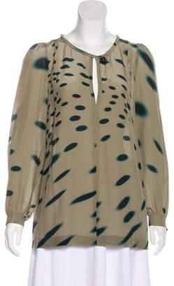 Sonia Rykiel Silk Printed Blouse